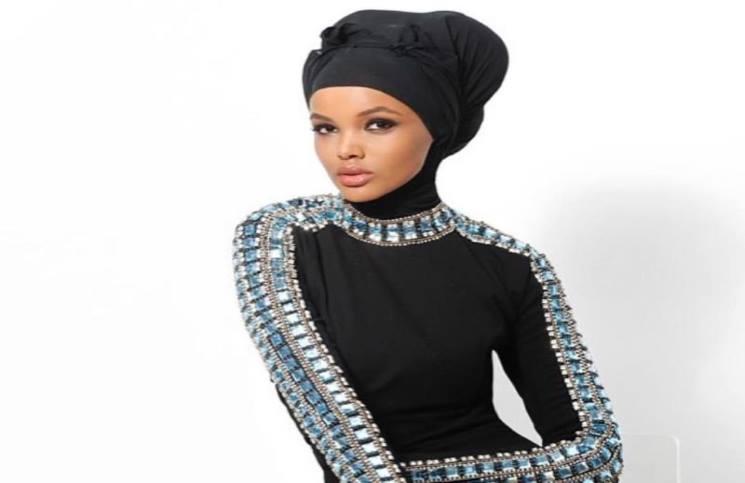 098baee87 عارضة الأزياء الصومالية حليمة آدم تحطم الحواجز في عالم الموضة ...